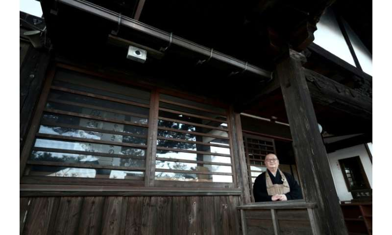 Japanese priest Sadamaru Okano is one of the 'citizen scientists' collecting radiation readings in the Fukushima region