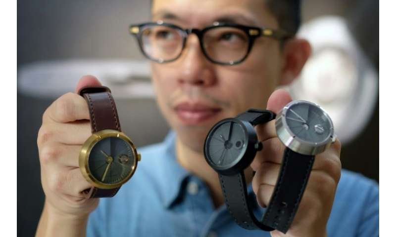 Jewellery and watchmaker Sean Yu creates watches made with a cement surface that are a huge hit with Taiwan's consumers