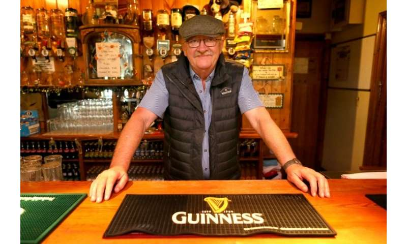 John Fearon said he feared that any uptick in price could have already hard-up drinkers up in arms at his pub The Gap O' the Nor