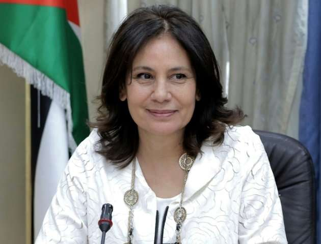 Jordan's Minister of Energy and Mineral Resources Hala Zawati says wind and solar power produce seven percent of the electricity