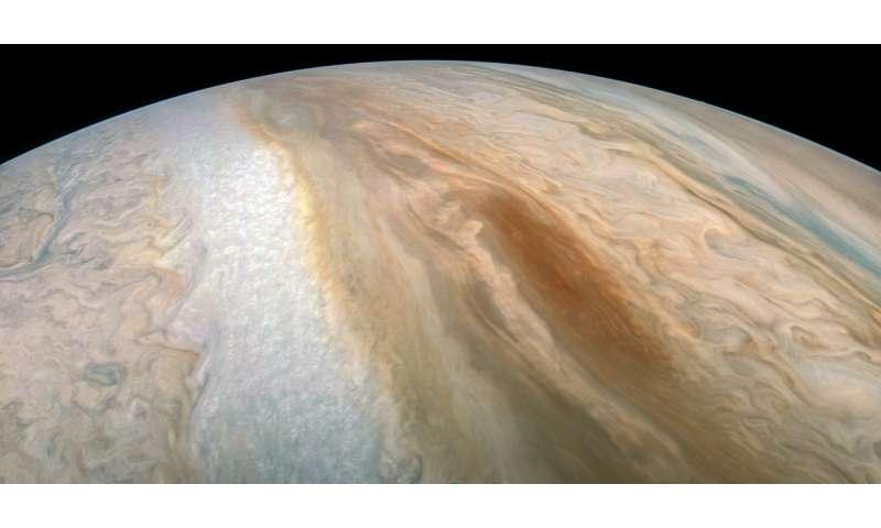 """Juno captures elusive """"brown barge"""""""
