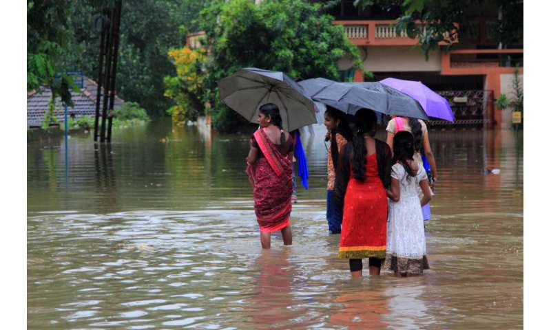 Kerala floods—why it's so hard to detect the fingerprints of global warming
