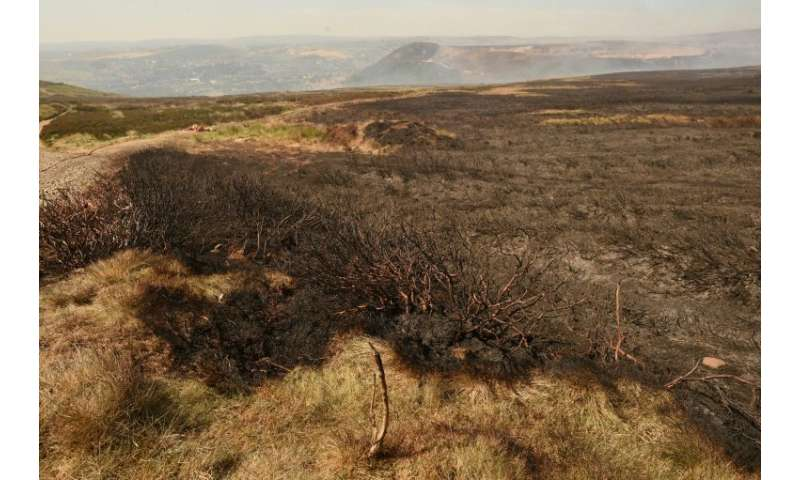 Last Thursday soldiers were called in to help tackle a fire on Saddleworth Moor, east of Manchester, which led to the temporary