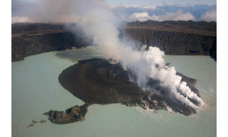 Last year's volcanic eruption in Vanuatu forced 11,000 people to evacuate Ambae Island