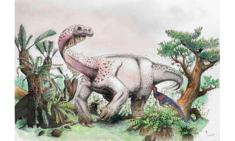 Ledumahadi mafube -- South Africa's new jurassic giant
