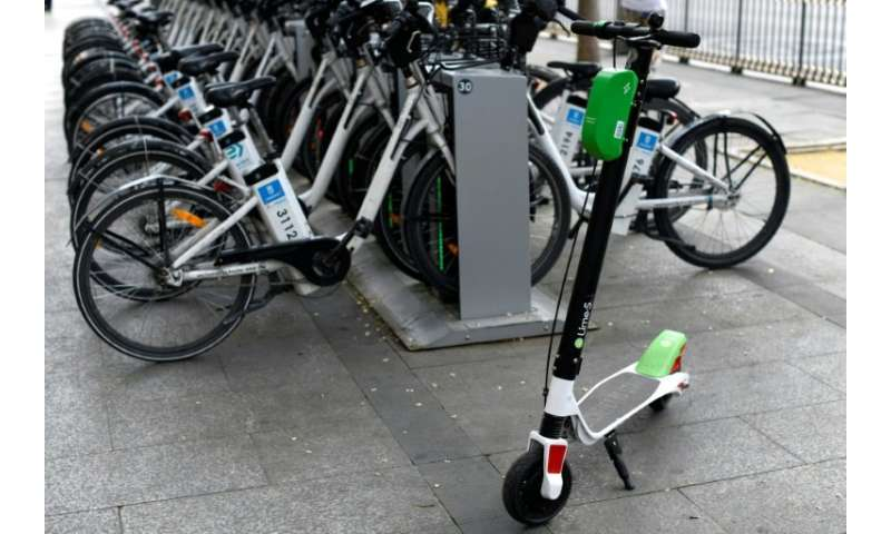 Lime scooters are tolerated by Madrid's left-wing city hall, intent on reducing pollution