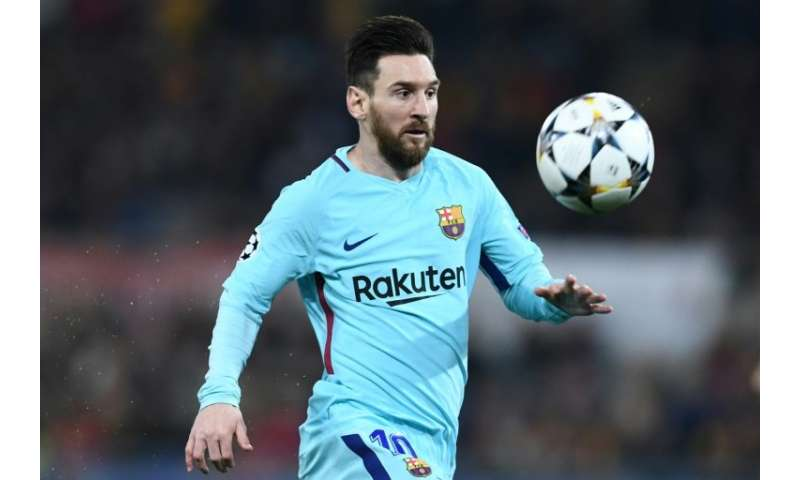 Lionel Messi literally makes the Earth move when he scores a goal for Barcelona, scientists say