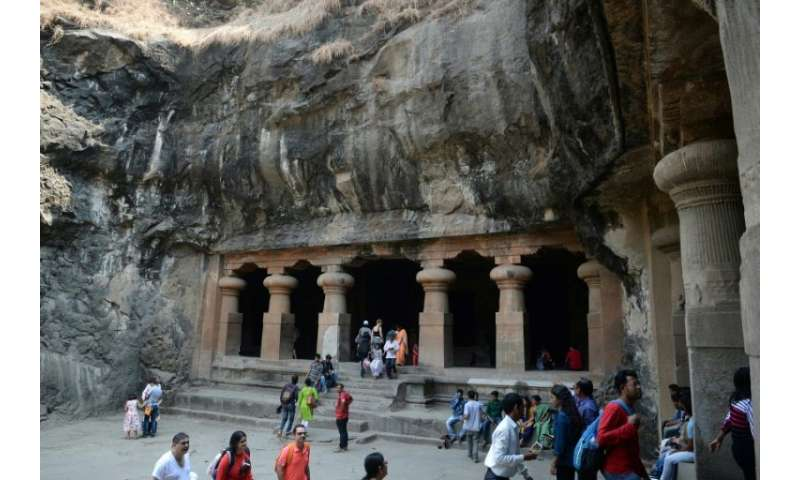 Local officials on Elephanta hope tourists, who take a short boat ride from the bustle of Mumbai to visit the island's famed fif