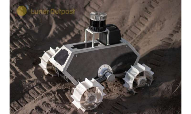 Lunar Outpost shows off new moon rover