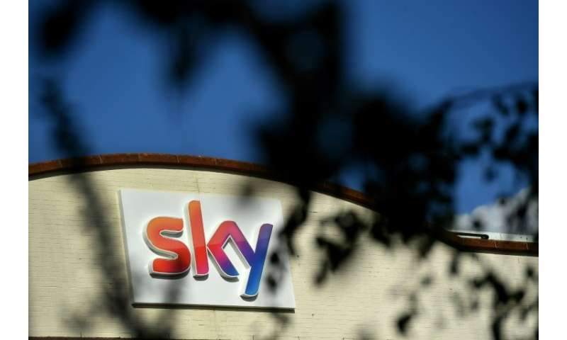 Many analysts say US cable giant paid too much for British telecom company Sky, whose west London offices are pictured in this f