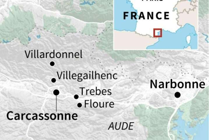Map Of France Carcassonne.Top 10 Punto Medio Noticias Map Of France Near Carcassonne