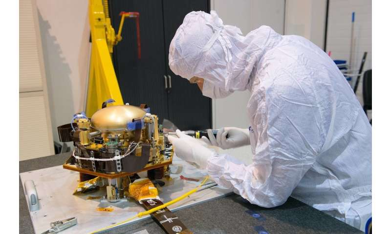 Mars mission—Testing instruments in the Black Forest