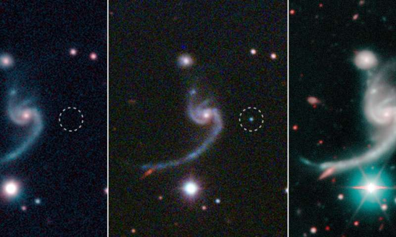 Massive star's unusual death heralds the birth of compact neutron star binary