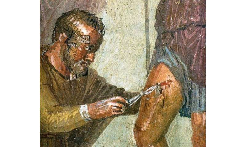 Medicine in antiquity—from ancient temples to Roman logistics