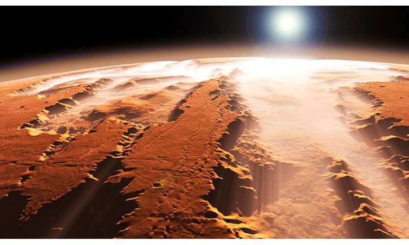 Meteorites reveal story of Martian climate
