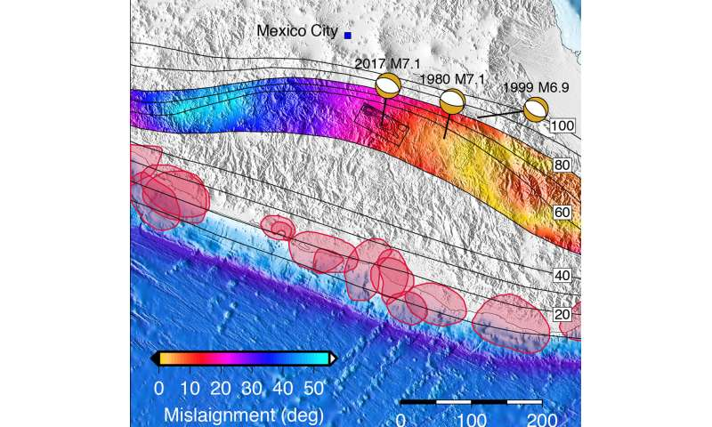 Mexico's 2017 earthquake emerged from a growing risk zone