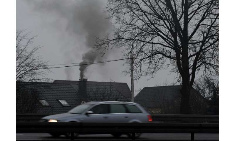 Millions of Poles heat their homes with often low-quality coal, which is the main source of air pollution ahead of cars and indu