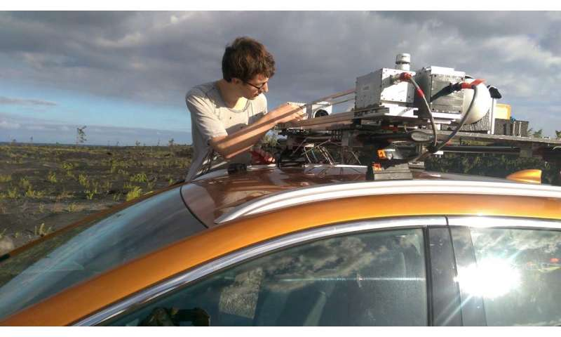 Monitoring air quality on Hawaii's Big Island during the Kilauea eruption