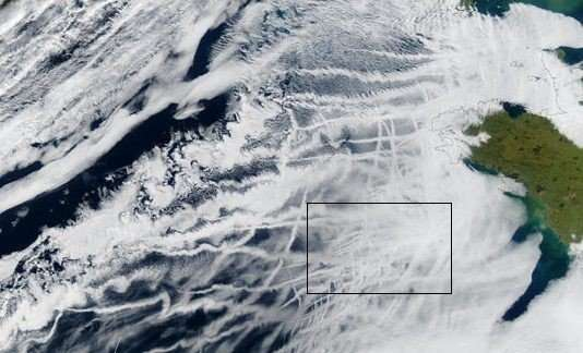 More ships and more clouds mean cooling in the arctic