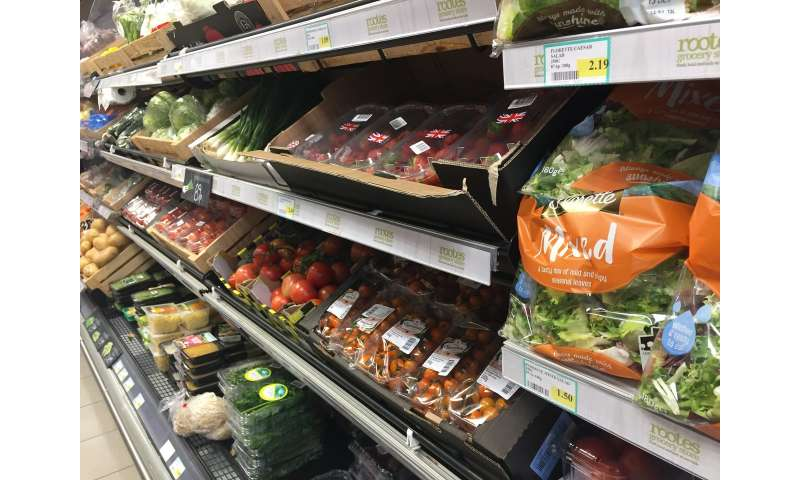 Moving location of fruit and vegetables in shops can lead to 15% sales increase