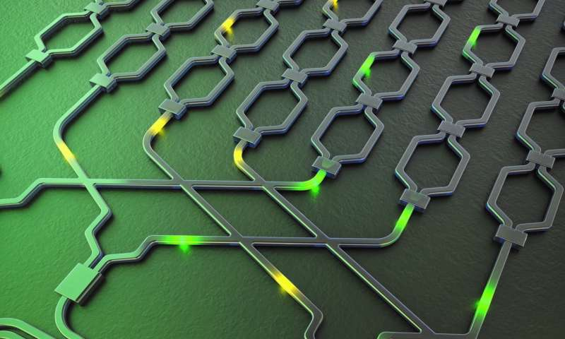 Multi-purpose silicon chip created for quantum information processing