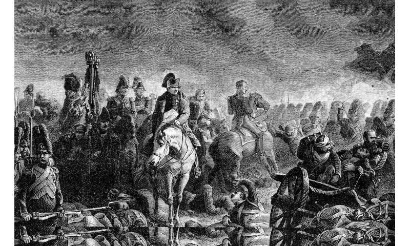 Napoleon's defeat at Waterloo caused in part by Indonesian volcanic eruption