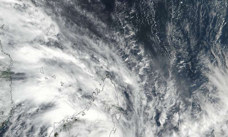 NASA catches Tropical Cyclone Ava's landfall on Madagascar's coast