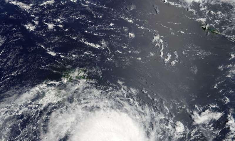 NASA eyes powerful Tropical Cyclone Gita in the South Pacific