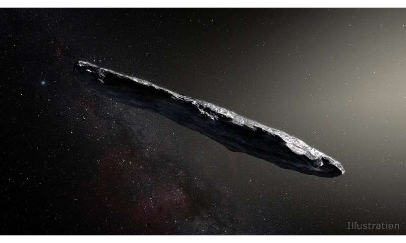NASA Learns More About Interstellar Visitor 'Oumuamua
