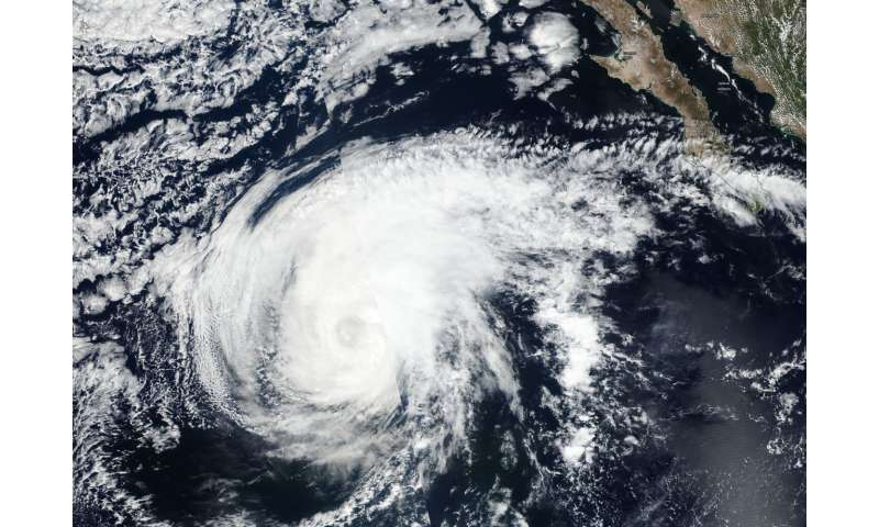 NASA provides takes powerful Hurricane Sergio's temperature