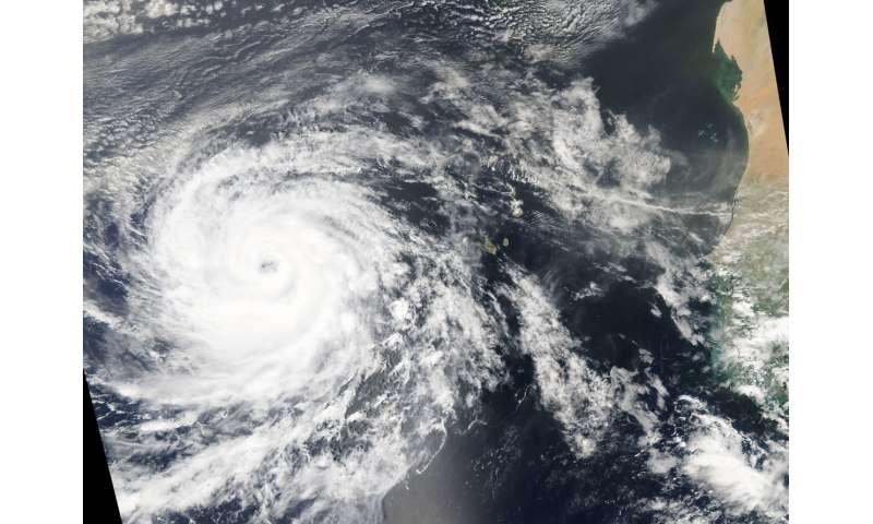NASA sees an organized Hurricane Helene near Africa