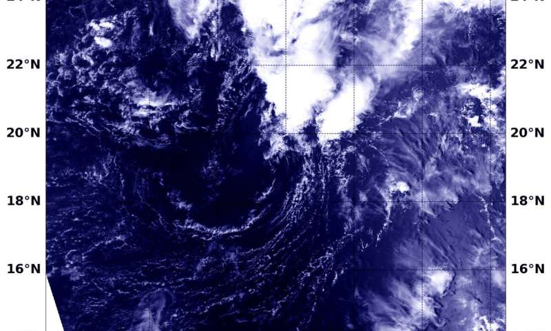 NASA sees post-Tropical Cyclone Lane come to an end