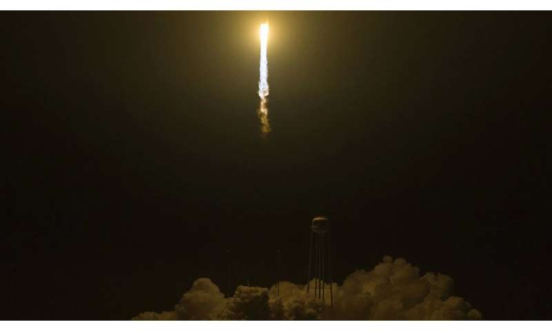 NASA sends new research on orbital ATK mission to space station