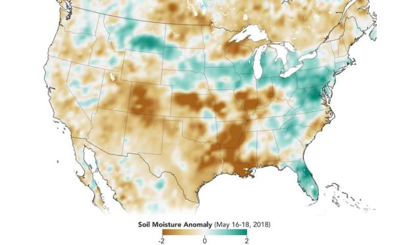 NASA soil moisture data advances global crop forecasts