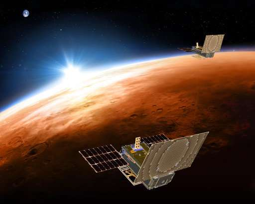 NASA spacecraft will have company all the way to Mars