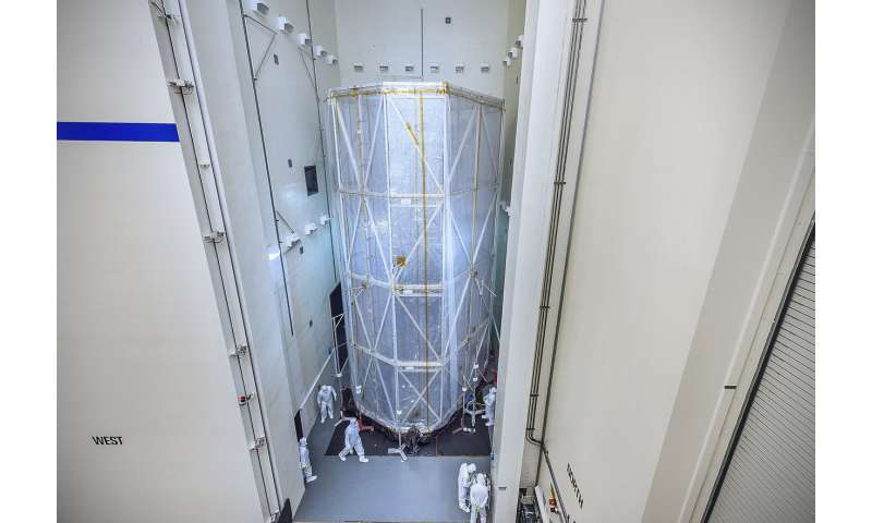 NASA's Webb Observatory spacecraft element environmental testing update
