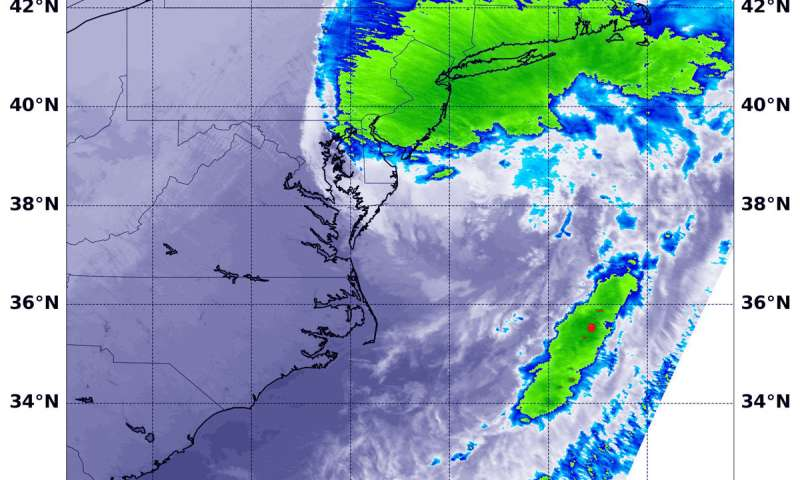 NASA tracks post-Tropical Cyclone Michael's heavy rains to Northeastern US