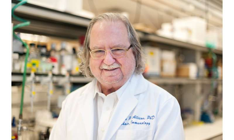 National Academy of Sciences awards Kovalenko medal to immunotherapy pioneer Allison