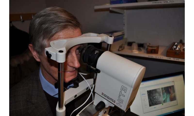 Nerve damage in type 2 diabetes can be detected in the eye