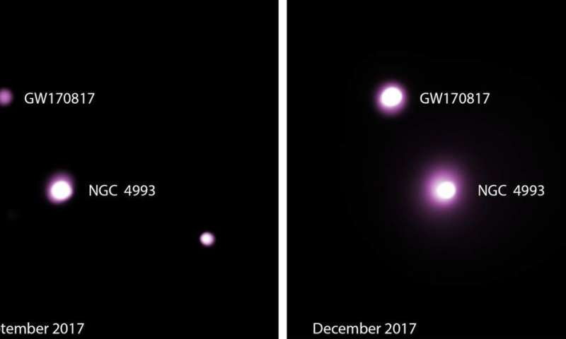 Neutron-star merger yields new puzzle for astrophysicists