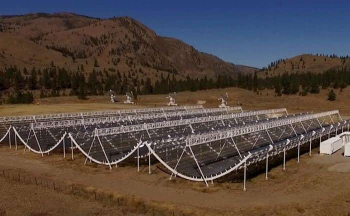 The new Canadian radio telescope detects fast radio outbreak