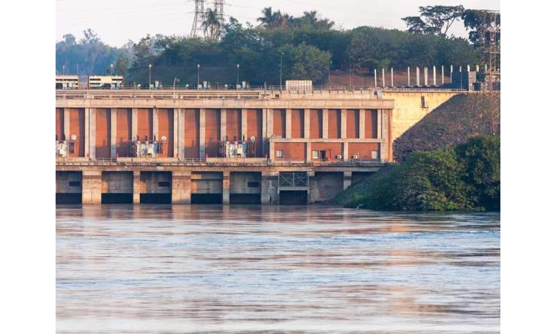 New dams in Africa could add risk to power supplies down theline