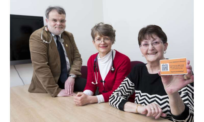 New device to help patients with rare disease access life-saving treatment