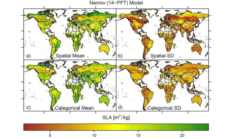 New ecological maps show a wider range of functional diversity