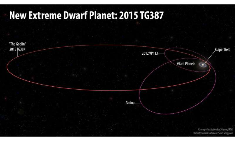 Orbit of 2015 TG387 (Roberto Molar Candanosa and Scott Sheppard, courtesy of Carnegie Institution for Science)