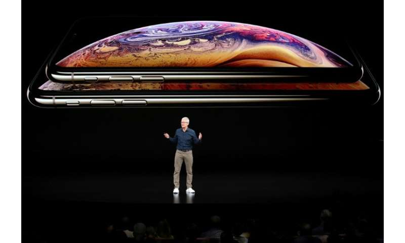 New iPhones unveiled Wednesday will include an updated operating system that helps users and parents keep track of their smartph