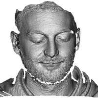 New model for large-scale 3-D facial recognition