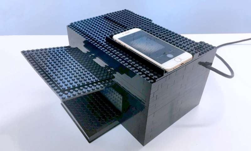 New nerve gas detector built with legos and a smartphone