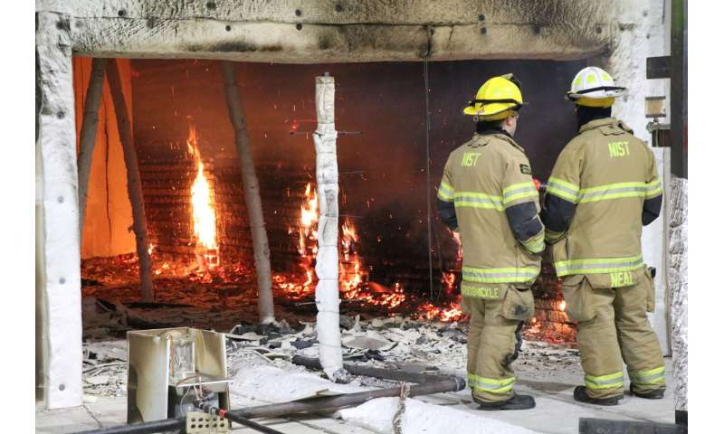 New NIST roadmap charts path to reduced fire hazards from materials