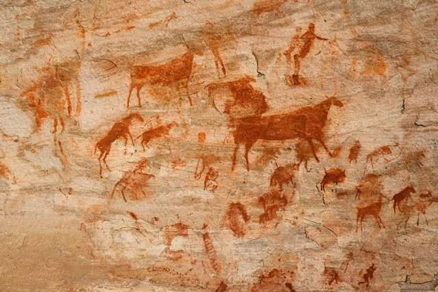 New paper links ancient drawings and the origins of language